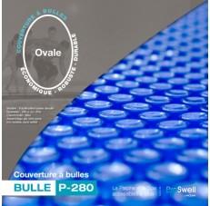 Couverture à bulle ovale
