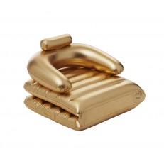 Gold- Fauteuil Doré