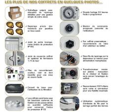 Coffret filtration + projecteur + électrolyseur